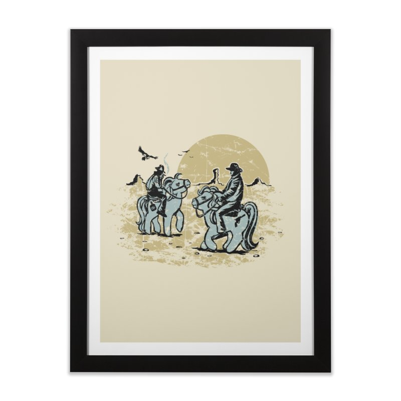 Ma Lil Outlaws Home Framed Fine Art Print by Claytondixon's Artist Shop