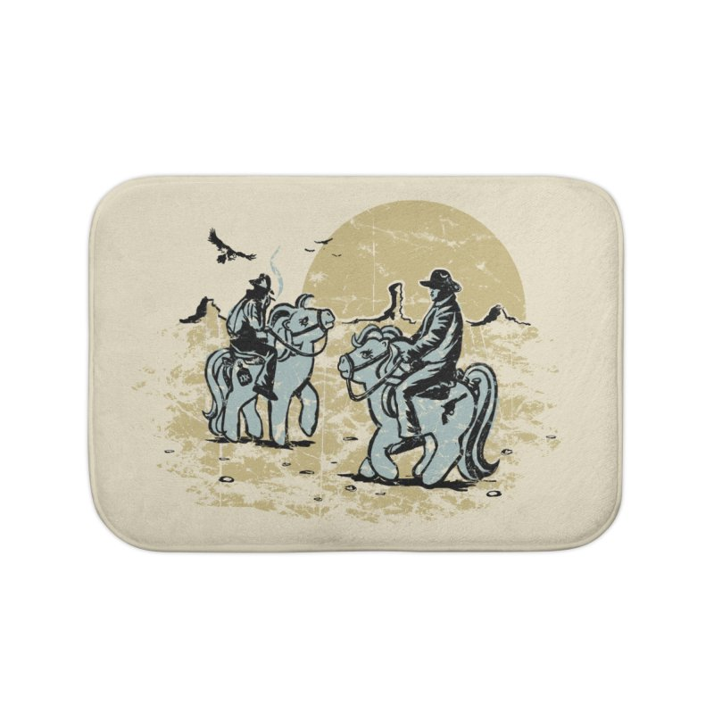 Ma Lil Outlaws Home Bath Mat by Claytondixon's Artist Shop