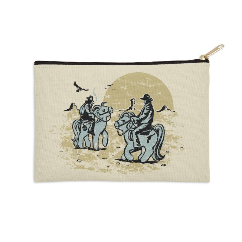 Ma Lil Outlaws Accessories Zip Pouch by Claytondixon's Artist Shop
