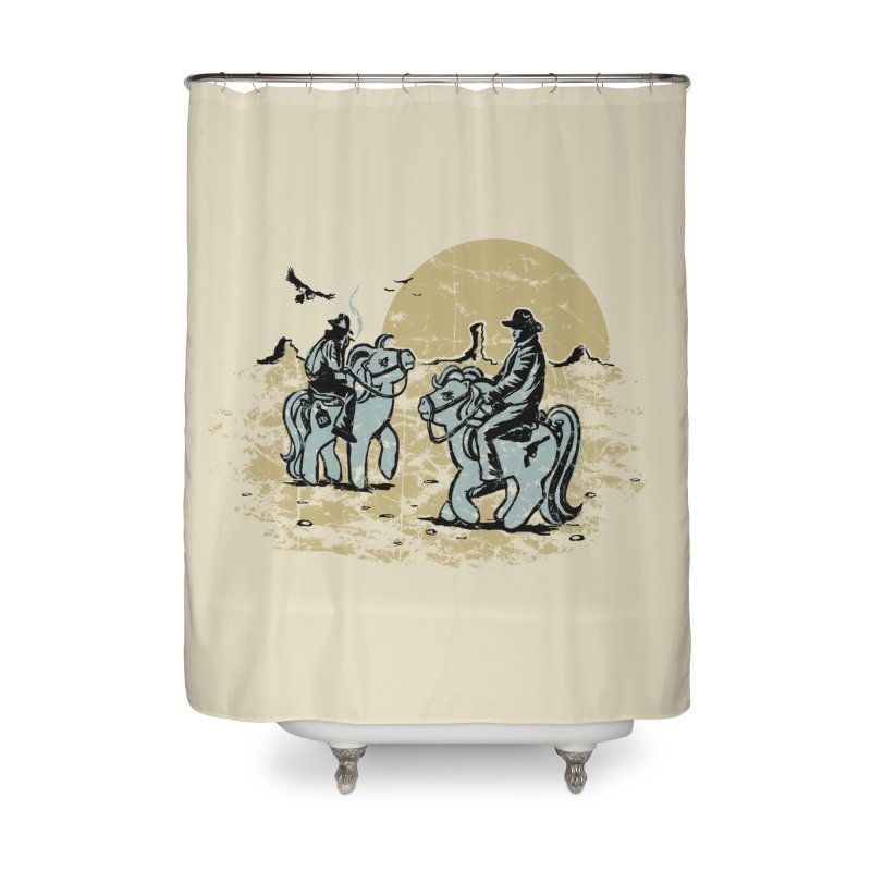 Ma Lil Outlaws Home Shower Curtain by Claytondixon's Artist Shop
