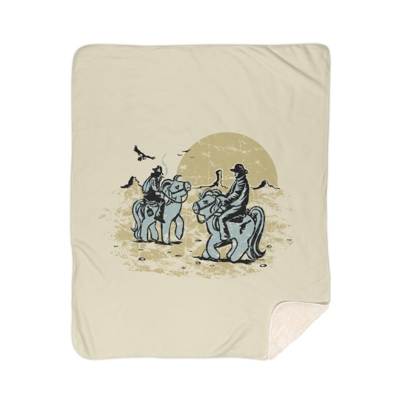 Ma Lil Outlaws Home Sherpa Blanket Blanket by Claytondixon's Artist Shop