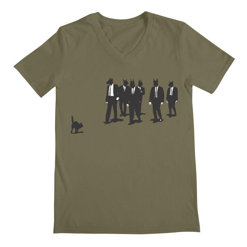 Reservoir Dogs Men's V-Neck by Claytondixon's Artist Shop