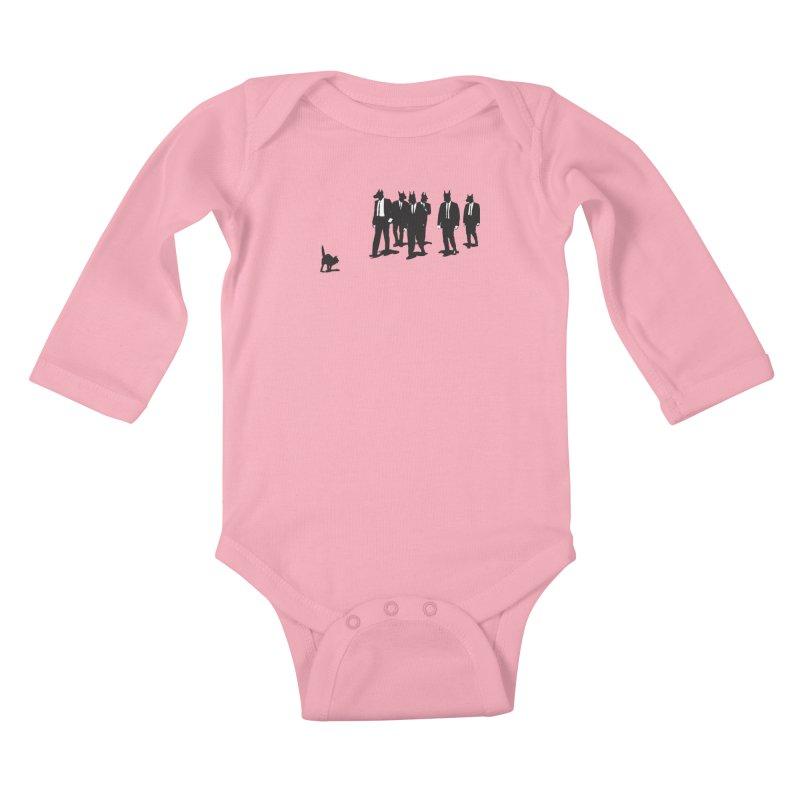 Reservoir Dogs Kids Baby Longsleeve Bodysuit by Claytondixon's Artist Shop