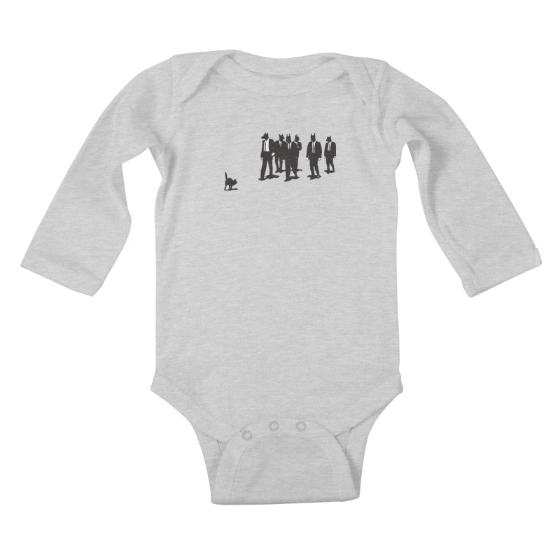 Reservoir Dogs Kids Baby Longsleeve Bodysuit by Claytondixon's Artist Shop