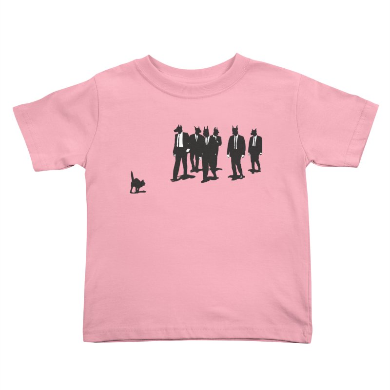 Reservoir Dogs Kids Toddler T-Shirt by Claytondixon's Artist Shop