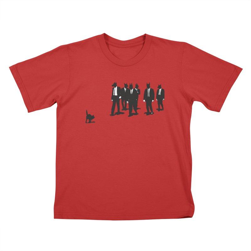 Reservoir Dogs Kids T-Shirt by Claytondixon's Artist Shop