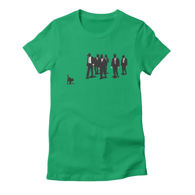 Reservoir Dogs Women's Fitted T-Shirt by Claytondixon's Artist Shop