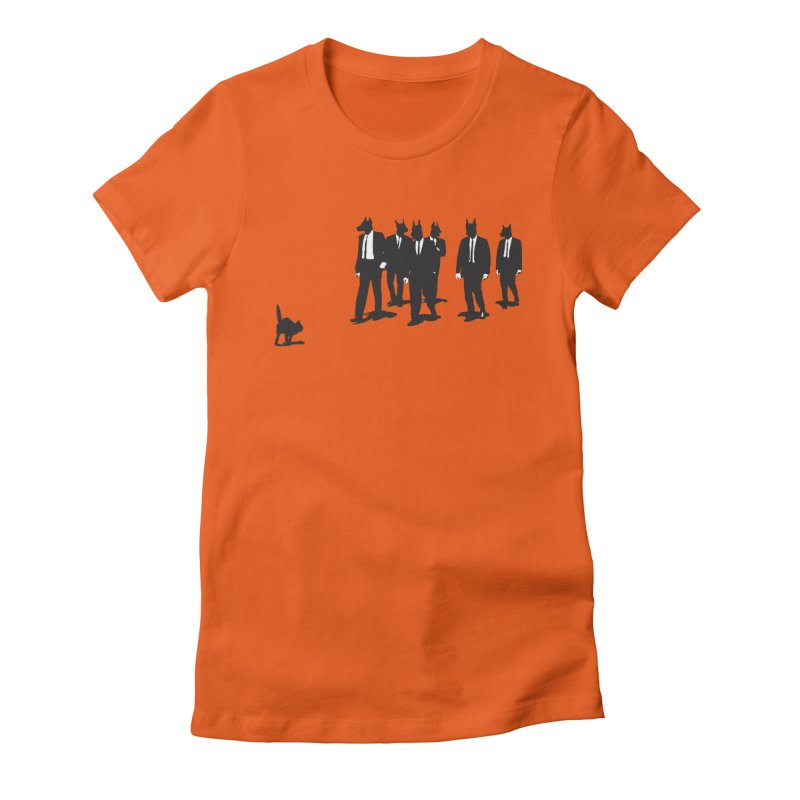 Reservoir Dogs Women's Fitted T-Shirt by Claytondixon's Artist Shop