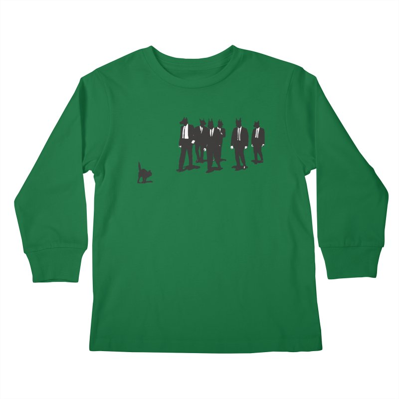 Reservoir Dogs Kids Longsleeve T-Shirt by Claytondixon's Artist Shop