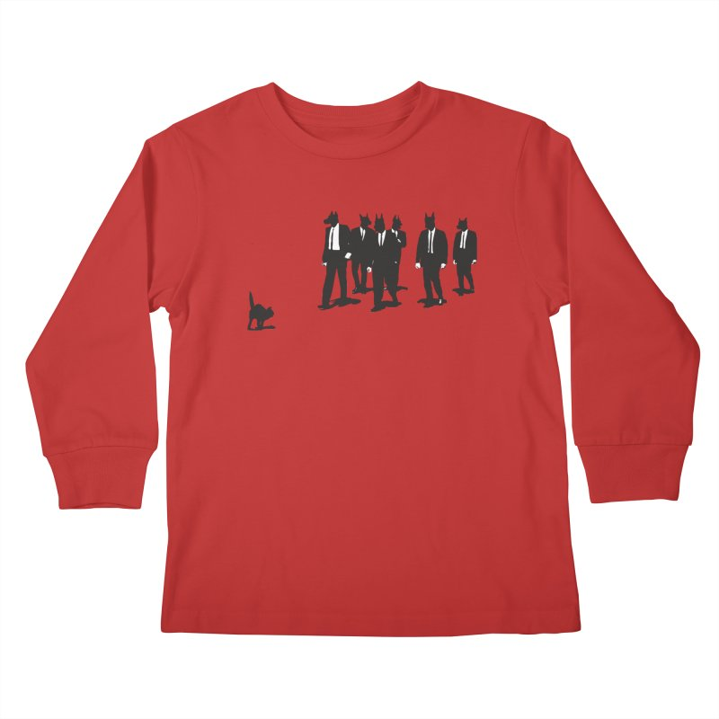 Reservoir Dogs Kids Longsleeve T-Shirt by Claytondixon's Artist Shop