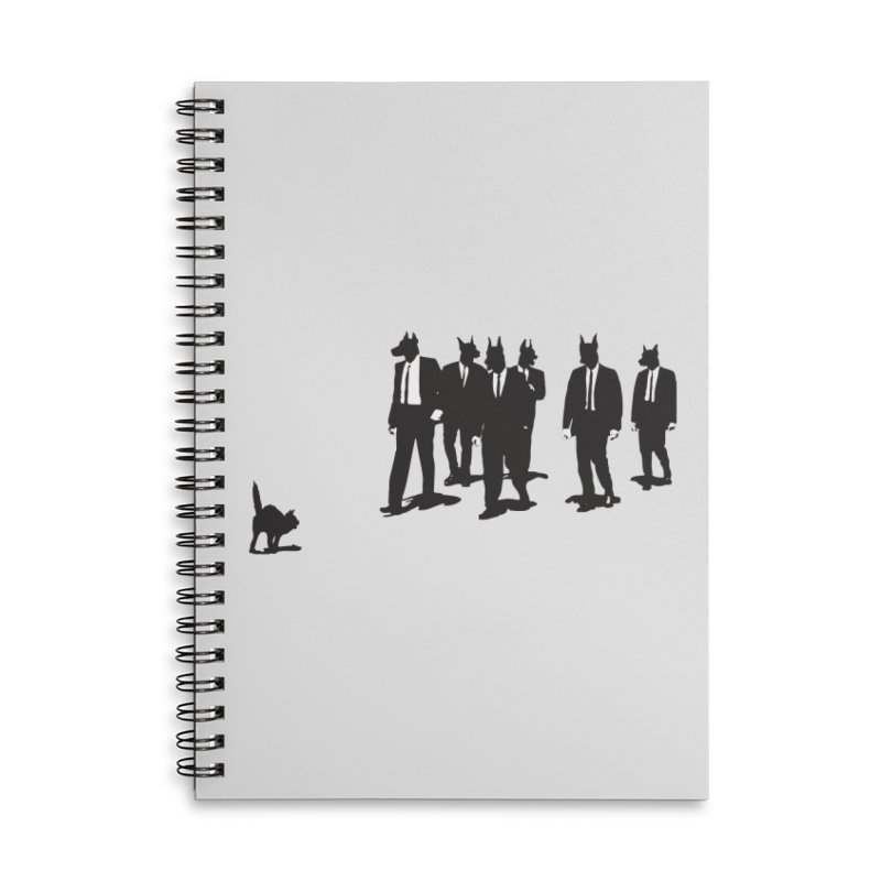 Reservoir Dogs Accessories Lined Spiral Notebook by Claytondixon's Artist Shop