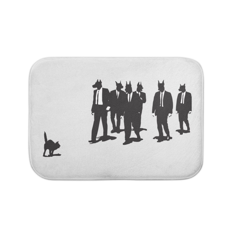 Reservoir Dogs Home Bath Mat by Claytondixon's Artist Shop