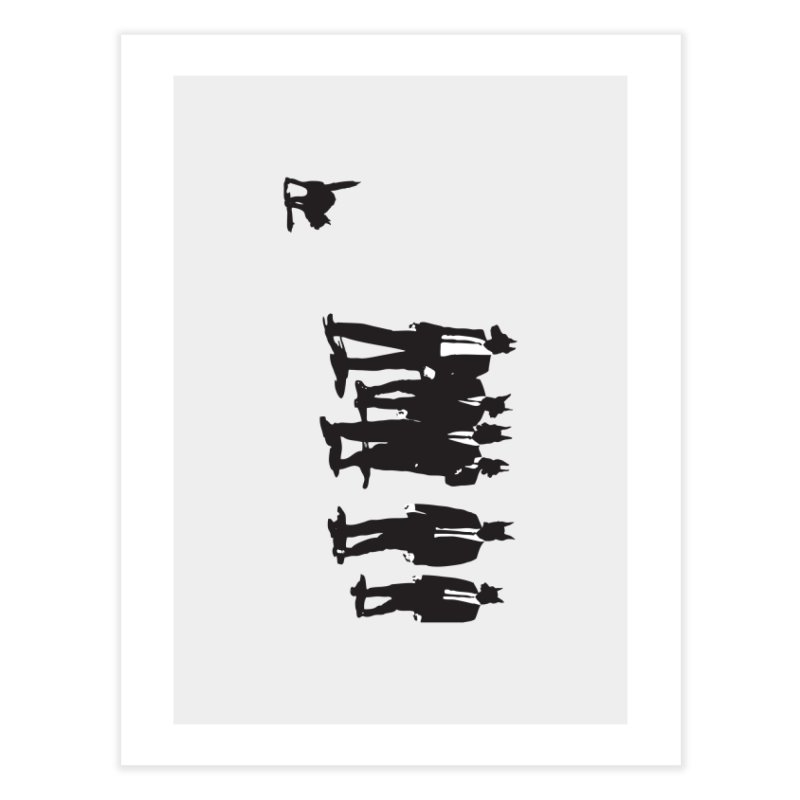 Reservoir Dogs Home Fine Art Print by Claytondixon's Artist Shop