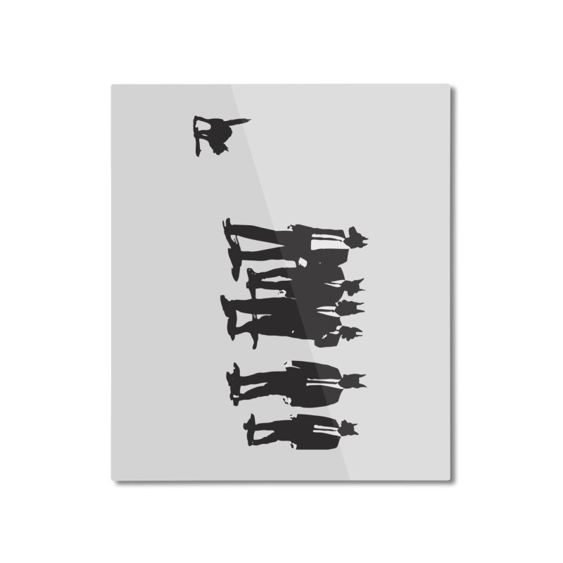 Reservoir Dogs Home Mounted Aluminum Print by Claytondixon's Artist Shop