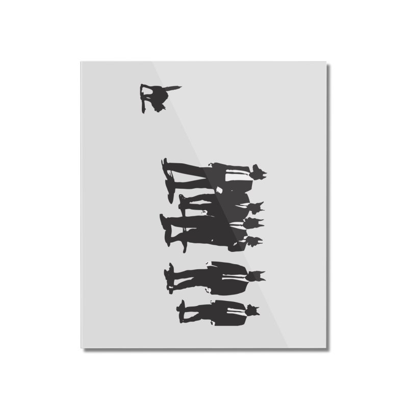 Reservoir Dogs Home Mounted Acrylic Print by Claytondixon's Artist Shop