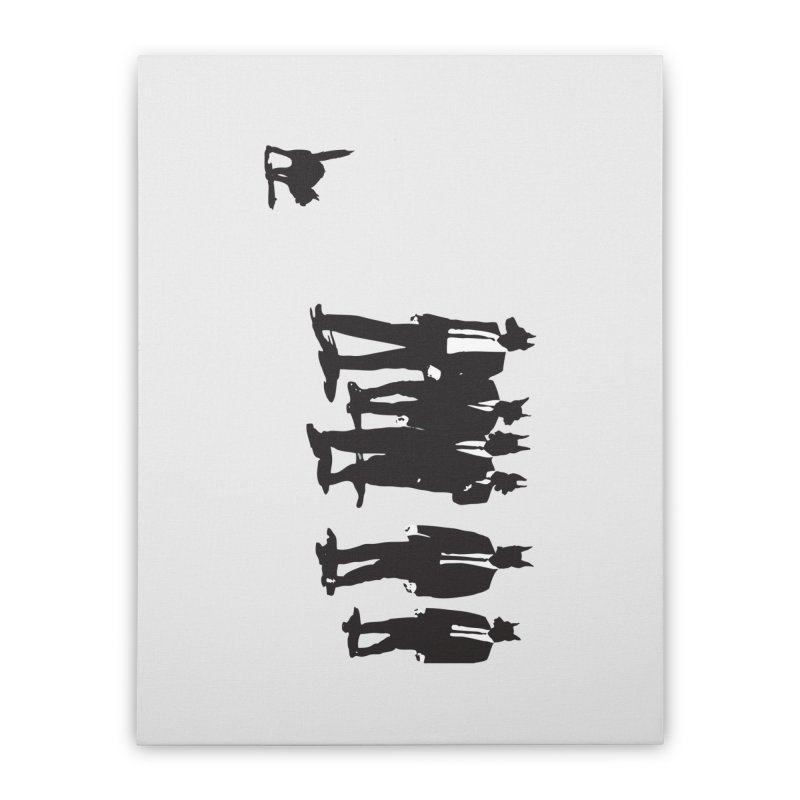 Reservoir Dogs Home Stretched Canvas by Claytondixon's Artist Shop