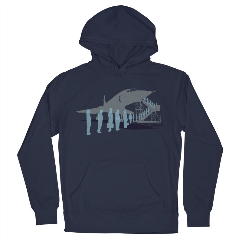 Final Flight Women's French Terry Pullover Hoody by Claytondixon's Artist Shop