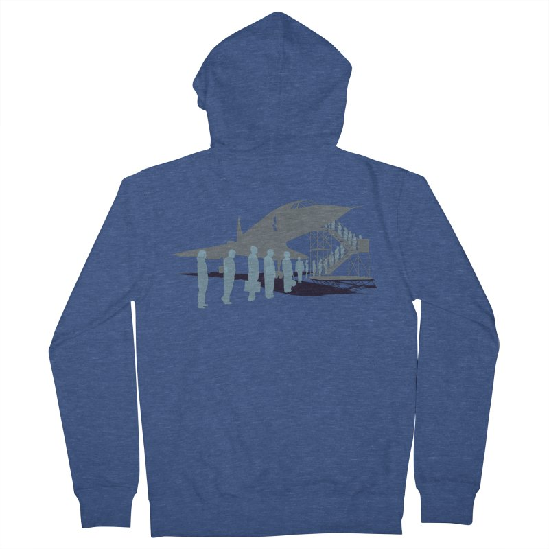 Final Flight Women's Zip-Up Hoody by Claytondixon's Artist Shop
