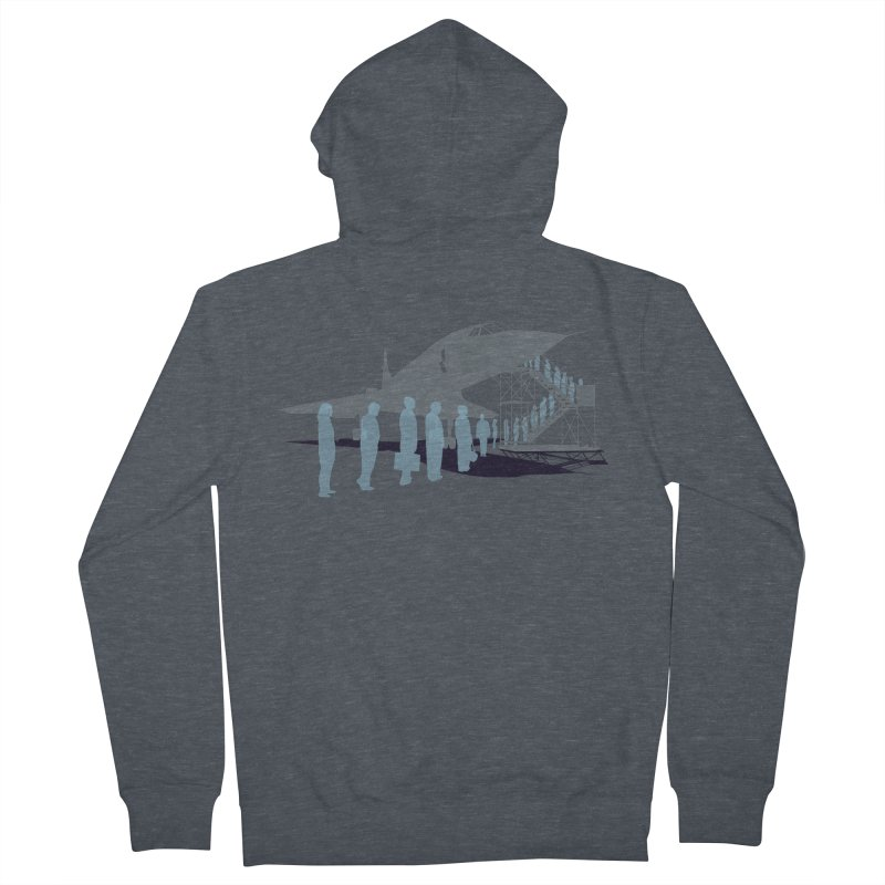 Final Flight Men's Zip-Up Hoody by Claytondixon's Artist Shop