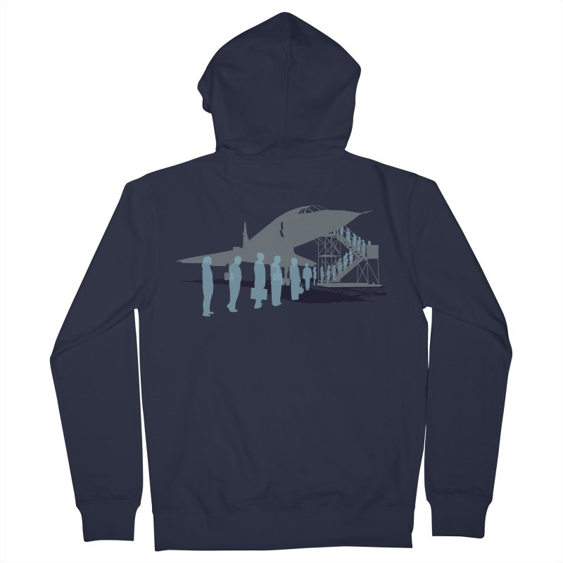 Final Flight Men's French Terry Zip-Up Hoody by Claytondixon's Artist Shop