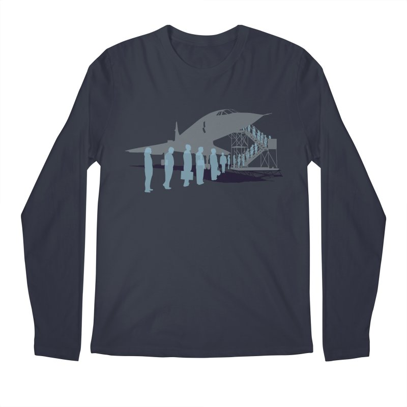 Final Flight Men's Longsleeve T-Shirt by Claytondixon's Artist Shop