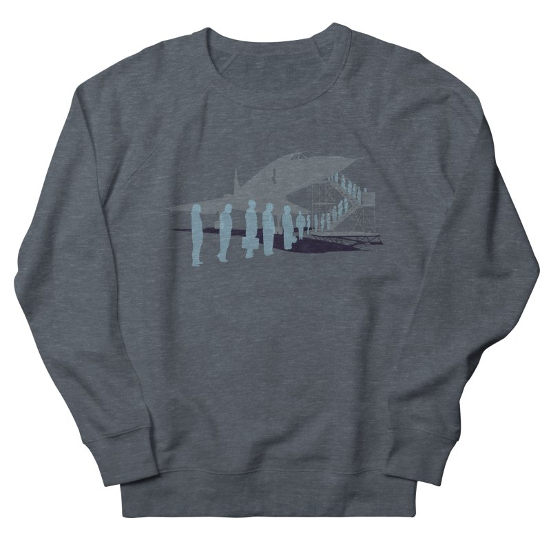 Final Flight Women's French Terry Sweatshirt by Claytondixon's Artist Shop