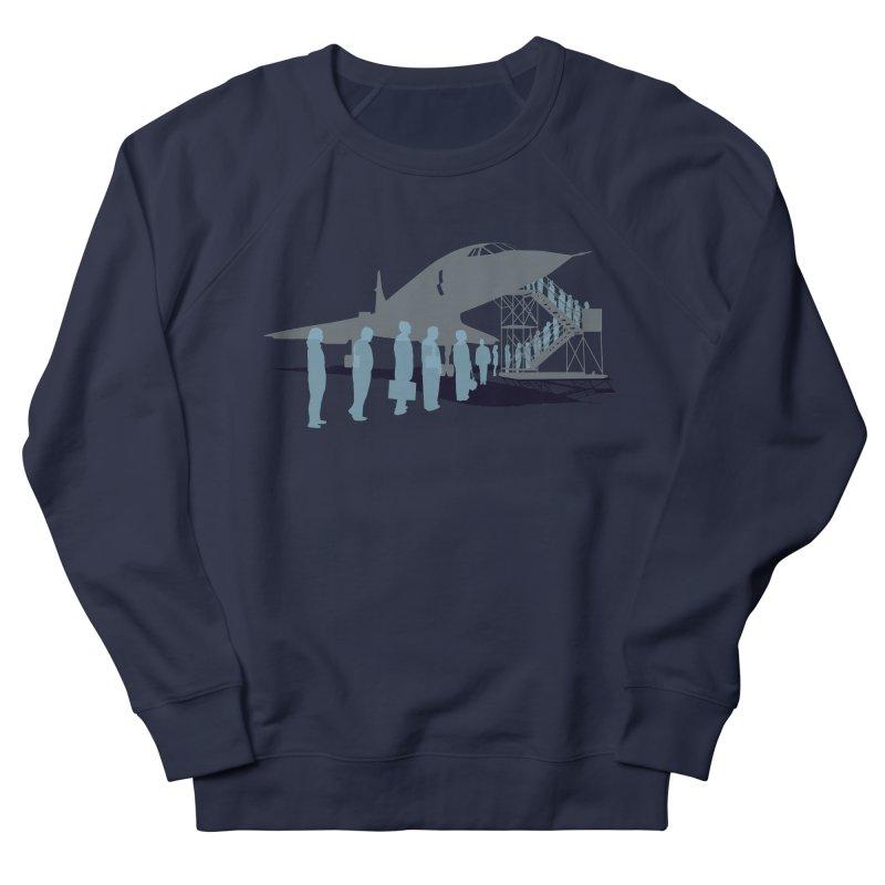 Final Flight Men's French Terry Sweatshirt by Claytondixon's Artist Shop