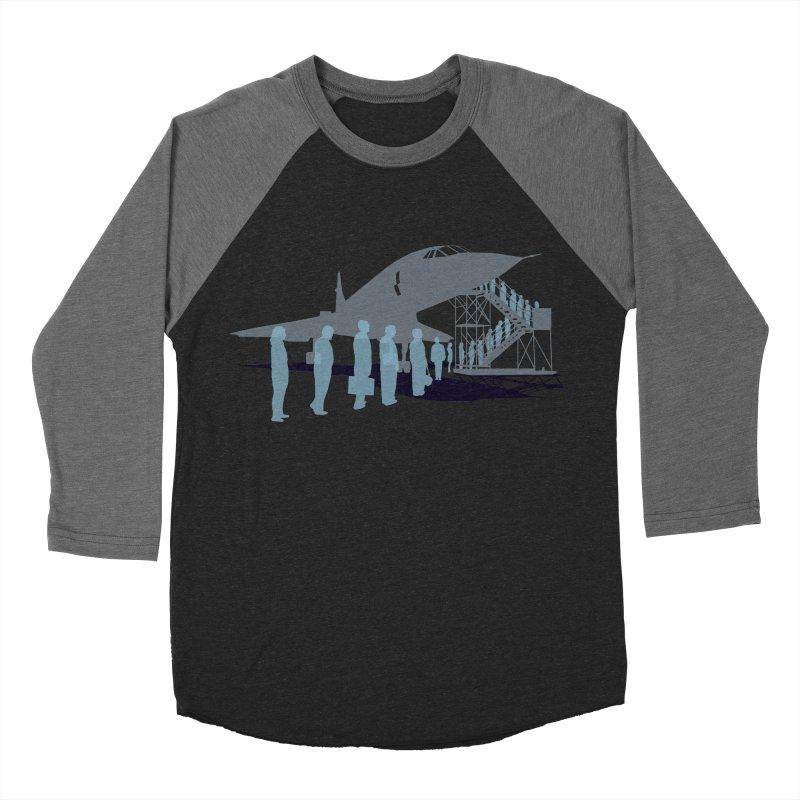 Final Flight Women's Baseball Triblend Longsleeve T-Shirt by Claytondixon's Artist Shop