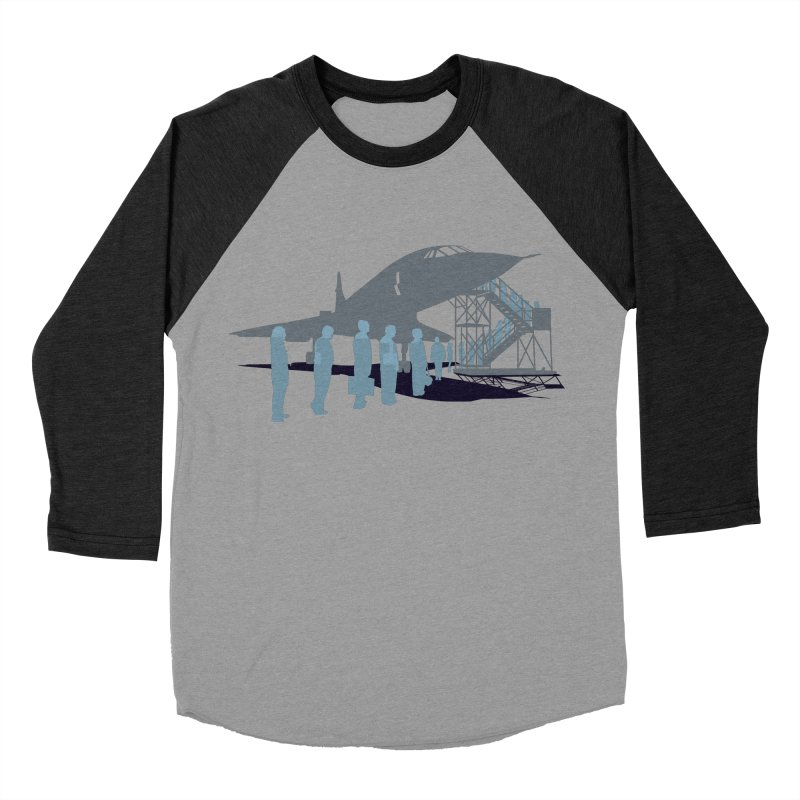 Final Flight Men's Baseball Triblend T-Shirt by Claytondixon's Artist Shop