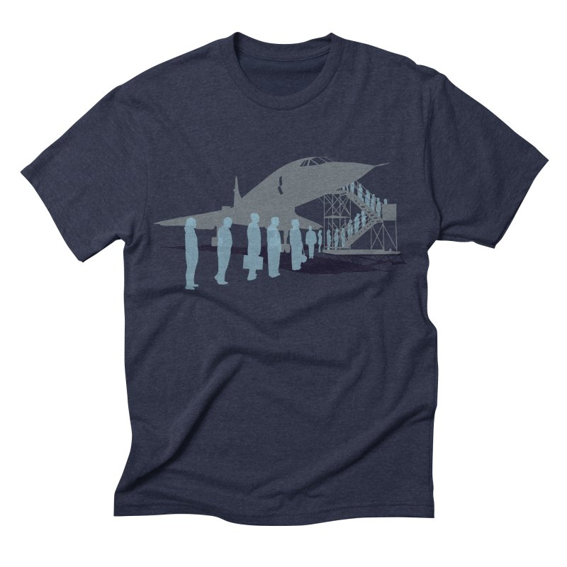 Final Flight Men's Triblend T-shirt by Claytondixon's Artist Shop