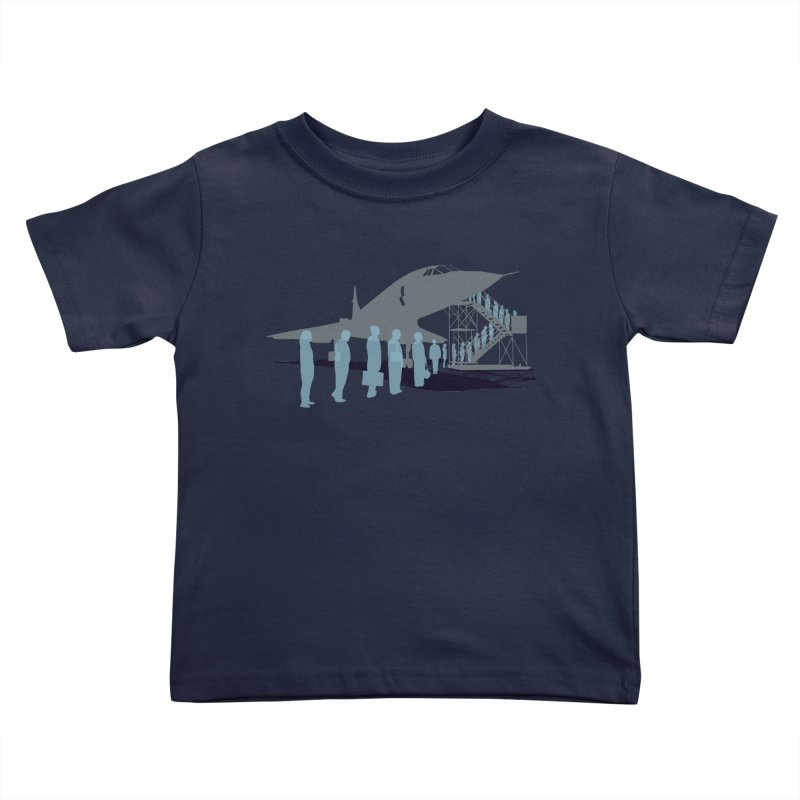 Final Flight Kids Toddler T-Shirt by Claytondixon's Artist Shop