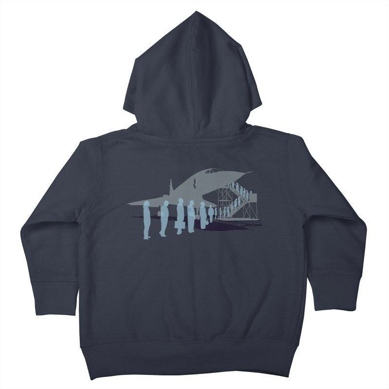 Final Flight Kids Toddler Zip-Up Hoody by Claytondixon's Artist Shop