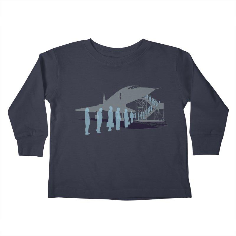 Final Flight Kids Toddler Longsleeve T-Shirt by Claytondixon's Artist Shop