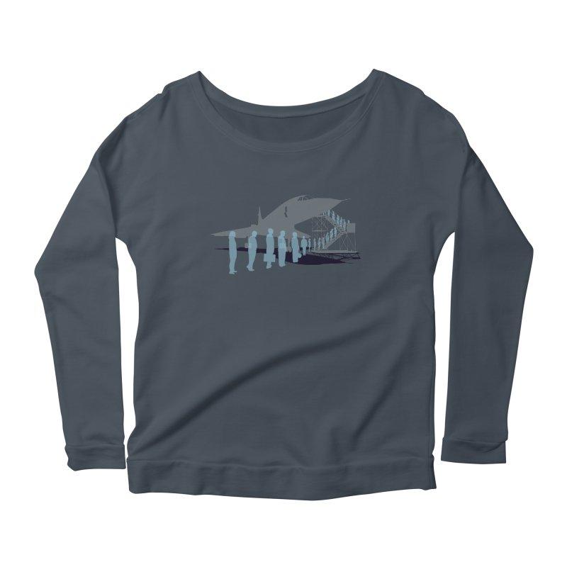 Final Flight Women's Scoop Neck Longsleeve T-Shirt by Claytondixon's Artist Shop