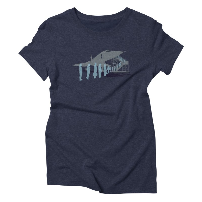 Final Flight Women's Triblend T-Shirt by Claytondixon's Artist Shop