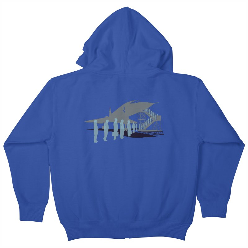 Final Flight Kids Zip-Up Hoody by Claytondixon's Artist Shop