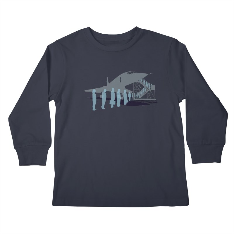 Final Flight Kids Longsleeve T-Shirt by Claytondixon's Artist Shop