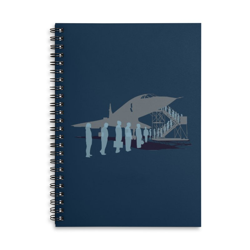 Final Flight Accessories Lined Spiral Notebook by Claytondixon's Artist Shop