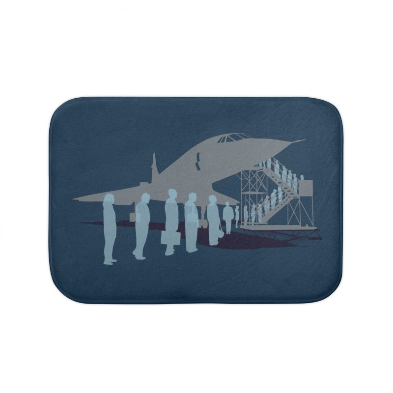 Final Flight Home Bath Mat by Claytondixon's Artist Shop