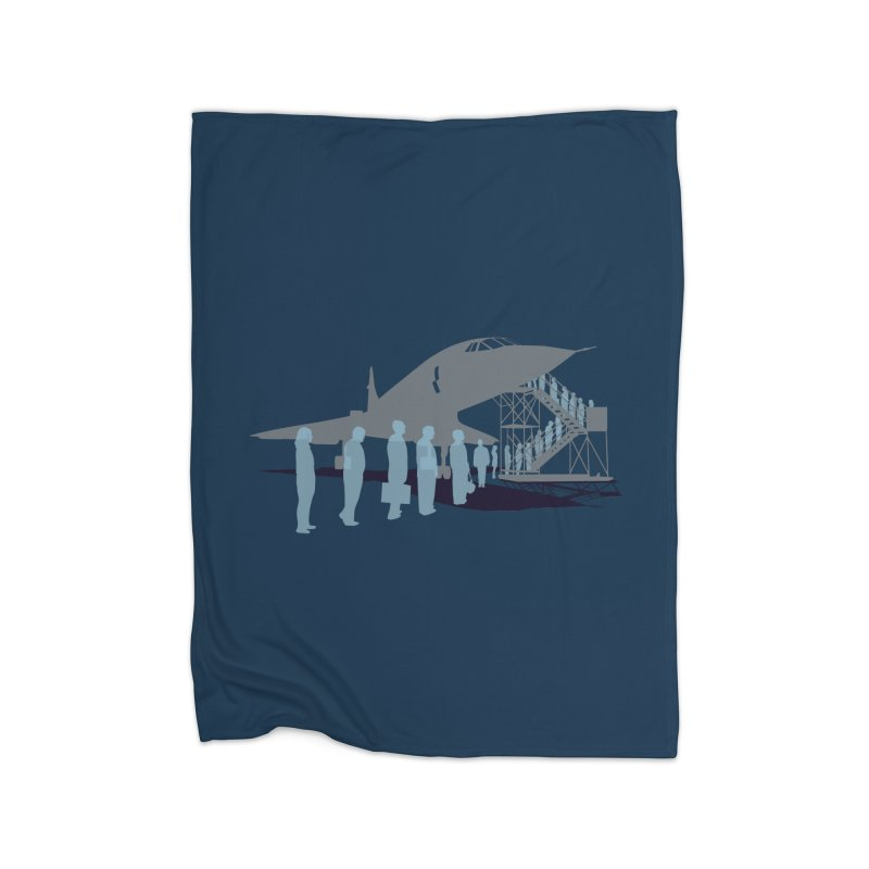 Final Flight Home Fleece Blanket Blanket by Claytondixon's Artist Shop