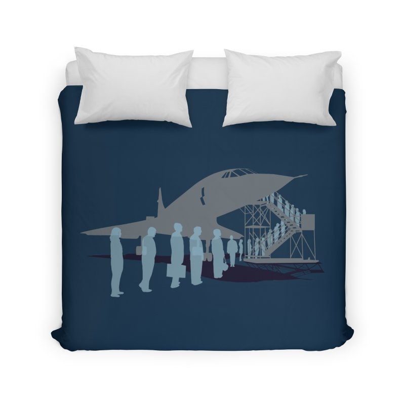 Final Flight Home Duvet by Claytondixon's Artist Shop