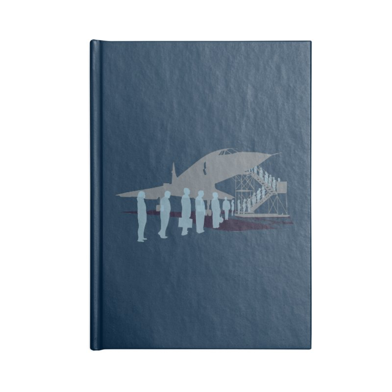 Final Flight Accessories Lined Journal Notebook by Claytondixon's Artist Shop