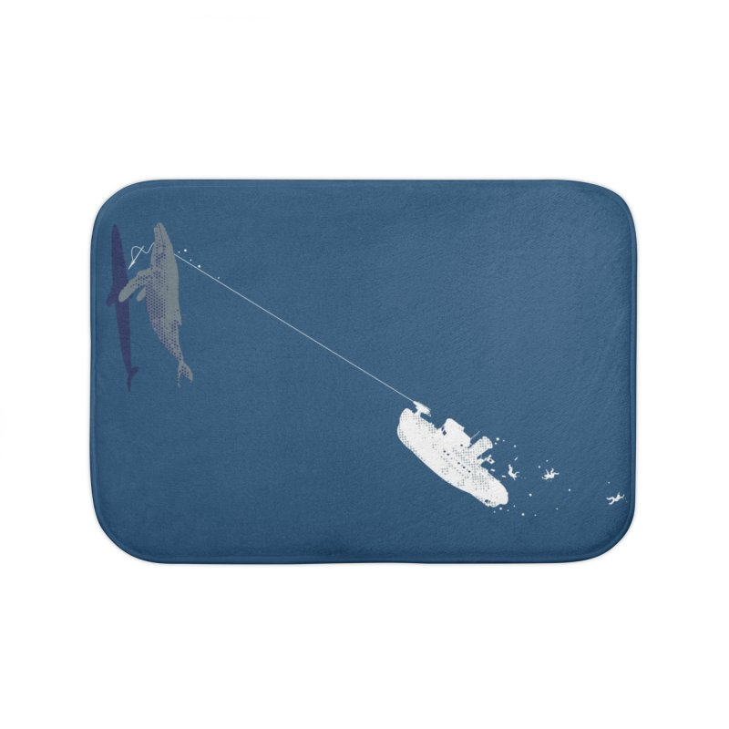 Karma Home Bath Mat by Claytondixon's Artist Shop