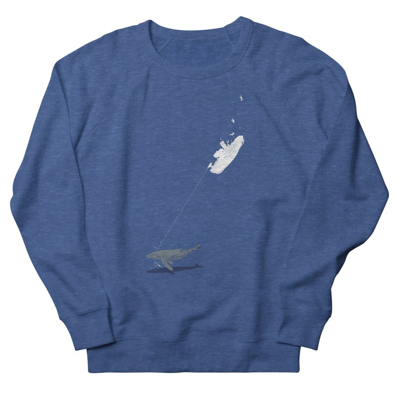 Karma Men's French Terry Sweatshirt by Claytondixon's Artist Shop
