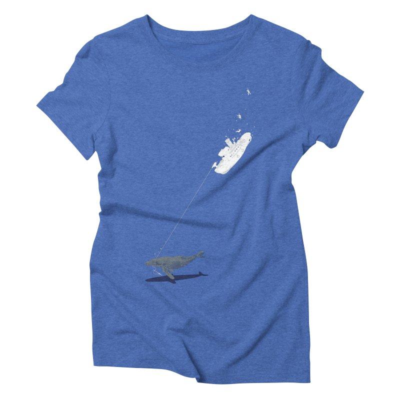Karma Women's Triblend T-Shirt by Claytondixon's Artist Shop