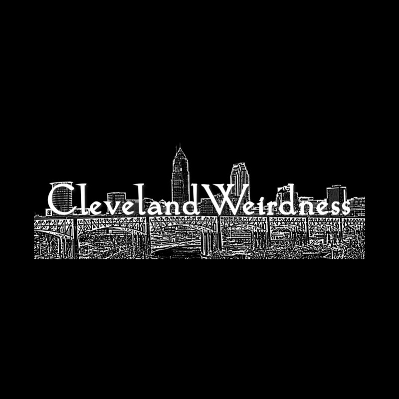 ClevelandWeirdness Skyline Logo in White Men's T-Shirt by ClevelandWeirdness Stuff