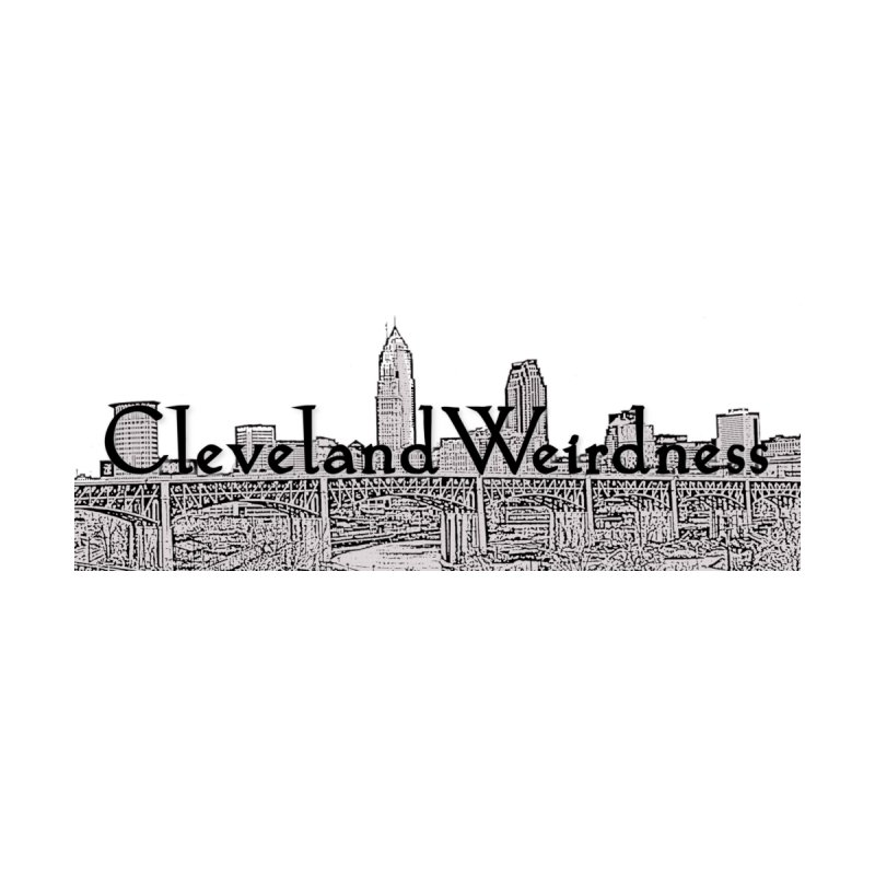 ClevelandWeirdness Skyline Logo in Grey Women's T-Shirt by ClevelandWeirdness Stuff