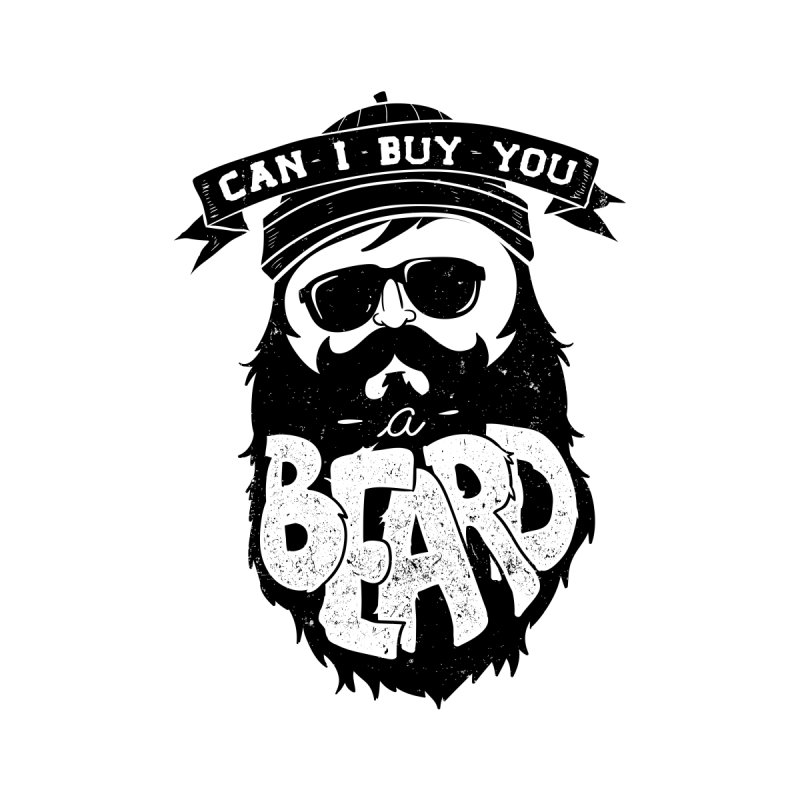 Can I Buy You a Beard? Women's Scoop Neck by CleverTshirts's Artist Shop