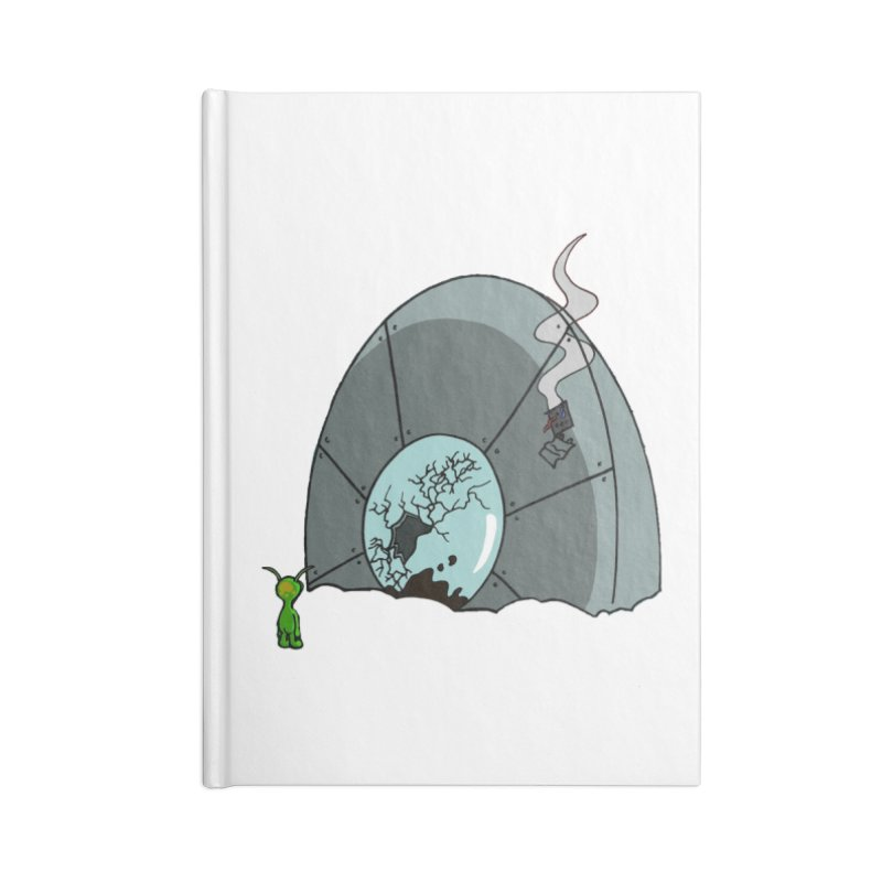 In Gratitude EP Alien Accessories Notebook by Cloud Tapes's Artist Shop