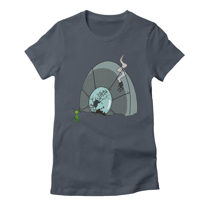 In Gratitude EP Alien Women's T-Shirt by Cloud Tapes's Artist Shop